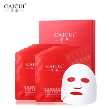 10 pz/lotto maschera per il viso cura della pelle idratante trattamento dell'acne sbiancamento Collagene peeling di bellezza, trasporto libero