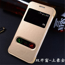 For Samsung Galaxy Grand Prime G530H G531H Auto Sleep View Window Flip Cover Pu Leather Phone Battery Cases Capa Funda