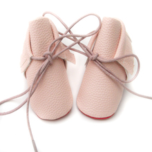 2016 new baby shoes girls princess soft leather Sole toddler baby Moccasins leather pu boots zapatos bebe