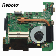Reboto High quality For Asus 1215N/VX6 Laptop motherboard mainboard REV:1.4 With Radiator fan 100% Tested Fast Ship(China)