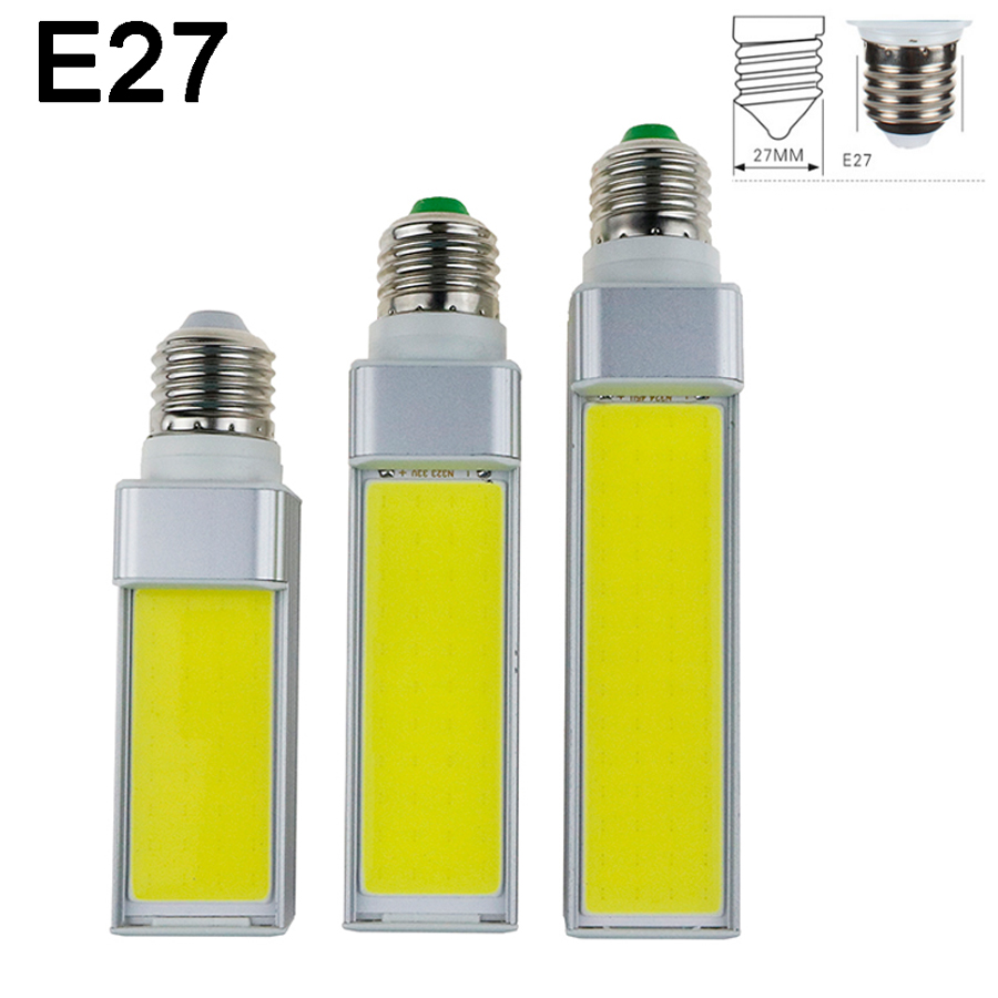 J95 High quality New COB LED Corn Bulb E14 E27 G24 G23 LED  7W/9W/12W LED bulb lamp , 7W/9W/12W LED Corn Bulb Light AC85-265V