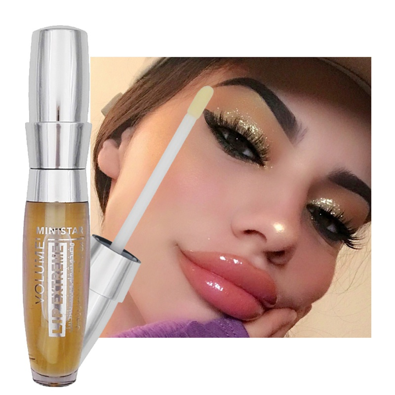 Long Lasting Lip Gloss Sexy Moisturizing Lip Plumper Extreme Waterproof Big Transparent Lip Gloss Makeup Lip Color(China)