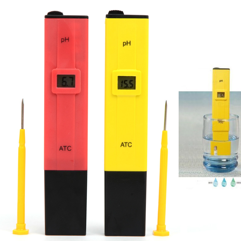 1PC Portable Digital PH Meter Tester Accurate Digital LCD PH Value Test Pen PH Tester for Aquarium Pool Laboratory T1205 T0.4(China (Mainland))