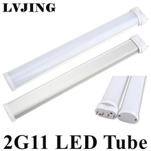 Best 2G11 LED Light 2G11 Tube LED 12W 15W 18W 25W SMD2835 Diffused Cover AC85--265V Warm/Cool White Free Shipping