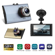 Ultra thin HD 1080P Night Vision Car Camera Screen Dvr Review Mirror Digital Video Recorder Camcorder HDMI Cam car accessorie H2(China)