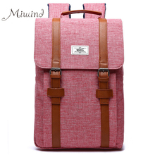 Women Backpack Men Schoolbag Vintage Preppy Belthasp Canvas Backpack Laptop Notebook Female Male Backpacks Designer Travel Bags