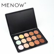 Menow Brand New Professional Concealer Palette 15 Color Concealer Perfect Cover Acne Dark Circles Makeup Cosmetic C15004 *(China)