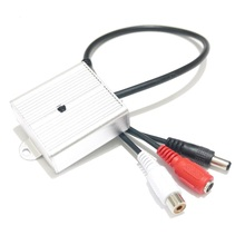 CS-07 Sound Monitor Audio Pickup Security Listening for CCTV Camera Audio Camera Microphone(China)