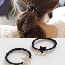Fashion Gold Colour Starfish Hair Accesories Sea Star Hair Bands hair rope for women girls Jewelry t110