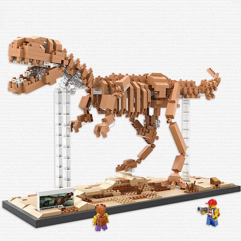 Loz Dinosaur Tryannosaurus Rex  Blocks Toys brinquedos juguetes Children toy figurine jouet enfant<br>