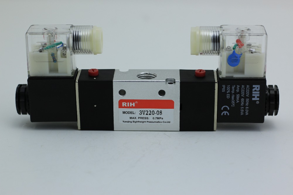 RIH brand 3V220-08 Solenoid Valves 1/4special preference<br><br>Aliexpress