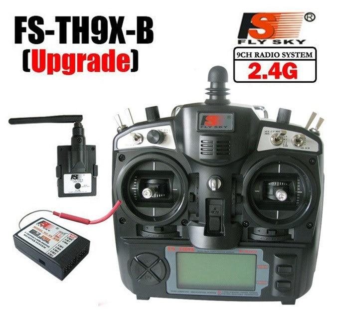 Original Flysky FS-TH9X-B remote controller 2.4g 9CH radio TH9X Transmitter &amp; R9B Receiver TM002 with LCD for FPV quadcopter<br><br>Aliexpress