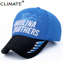 CLIMATE USA National Panthers Carolina Football Team Fans Sport Caps Super Bowl New England Patriots Adjustable Cool Caps Hat