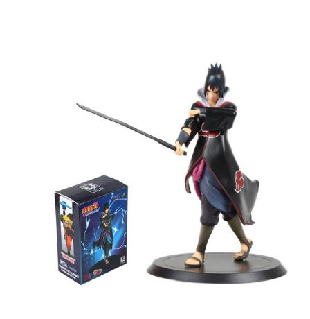 8 20cm Anime Naruto Shippuden Uchiha Sasuke PVC Action Figure Collectible Model Toy Sasuke Toys<br><br>Aliexpress