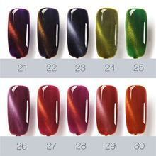 Luckly Varnish Lacquer Cat Eye Nail Gel Gel Polish Gel Nail Polish Set Magnetic Nail Polish Colors Gel Supplies(China)