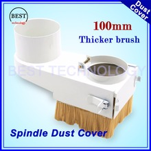 Buy 100mm Spindle Dust Cover Dust proof cover CNC Router Vacuum Cleaner 100mm diameter Dust protection Drawer type CNC machine for $15.50 in AliExpress store