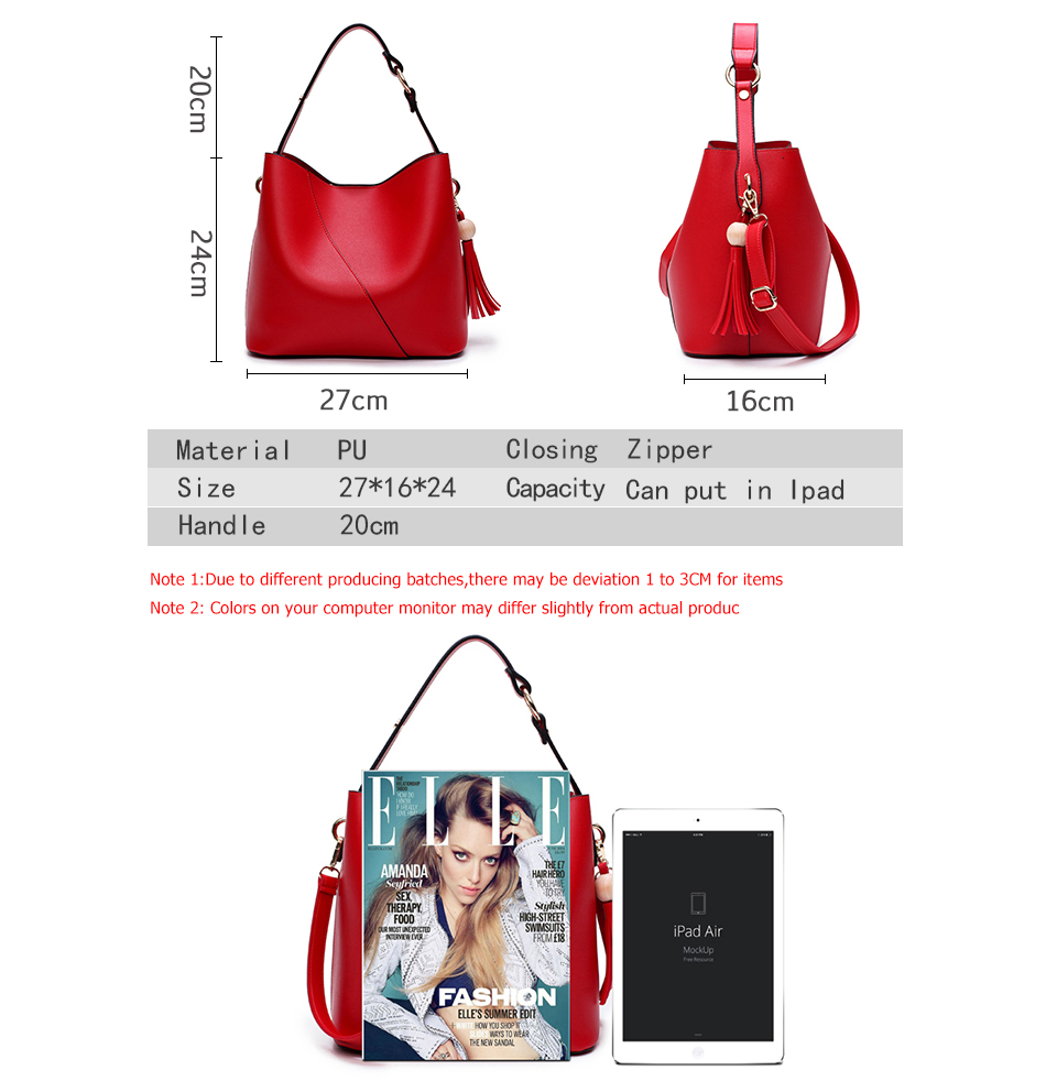 Leather Bag Luxury PU Women Shoulder Bags Handbag Brand Designer Bags New 17 Fashion Ladies Hand Bag Women's Bolsa Feminina 2