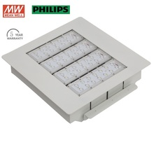 IP65 led flood light 160w PHILIP led chip Meanwell driver led gas station canopy lights 5 years warranty