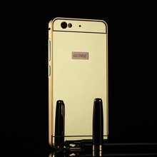 01 Blu Vivo 5 Free Shipping Coloured Alunminum Metal Frame Rim Bounding Box Cover Smart Mobile Cell Phone Cases Free Shipping