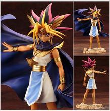 High quality ARTFX J 20cm Yugioh PVC Action Figure Model Toys Doll For childrens Gift With Box Free shipping
