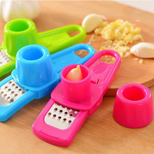 Multifunctional Ginger Garlic Press Grinding Grater Planer Slicer Mini Cutter Kitchen Cooking Gadgets Tools Utensils Accessories