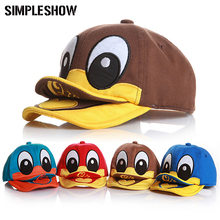 CUTE!! New 2017 Duck Design Baby Hat Baseball Caps For Girls Boys Sun Hat Kids Summer Hat Clothing and Accessories