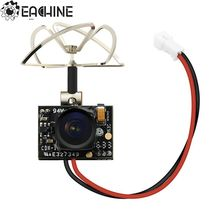 2017 New Arrival Eachine TX02 Super Mini AIO 5.8G 40CH 200mW VTX 600TVL 1/4 Cmos FPV Camera For FPV Multicopter(China)