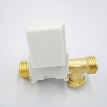 "G1/2""  DC24V Solar solenoid valve  pilot type T type NC Controll the Solar water heater DN15 External screw thread"