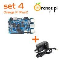Orange Pi Plus 2 SET4: Orange Pi Plus 2+ Power Supply Support Ubuntu, Debian Beyond Raspberry
