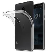 For Nokia 6 TPU cases ,Super Slim Stealth Clear Back Case Cover Shell Soft TPU Casefor Nokia 5/ Nokia 3 phone cases + retail box
