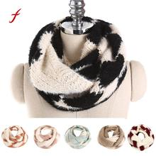 Feitong Quality Unisex Scarf poncho shawl stole Lovers Winter bandana Shawls Stoles Knitted scarves for women Men Scarf Collar(China)