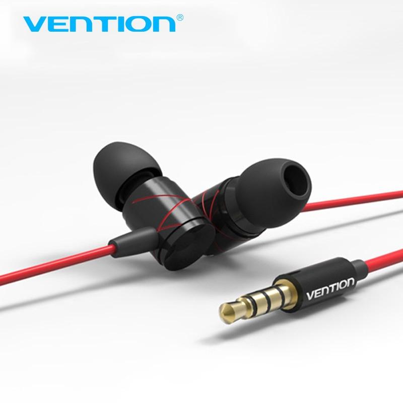 Vention In-Ear Earphone Metal Heavy Bass Sound Quality Music Earphone Headset fone de ouvido<br><br>Aliexpress