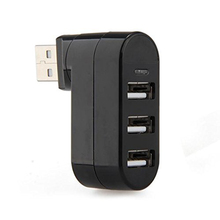 Etmakit New Fashion 3 Port USB HUB 2.0 USB Splitter Converter Adapter For Notebook/Tablet PC Peripherals Accessories(China)
