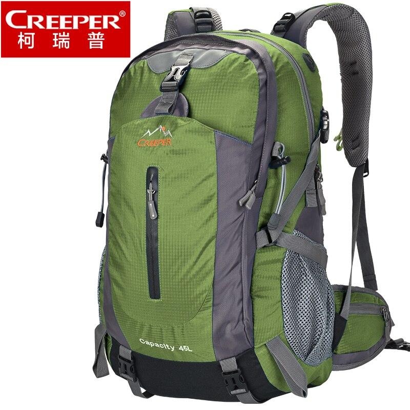 2017 New Fashion Travel Backpack Double Shoulder Bag Big Volume Colorful high quality Backpack Waterproof bag 45L/50L<br>