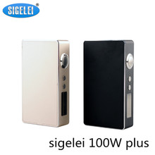 Buy Original Sigelei 100w Plus Box Mod Huge Vape 510 Thread Adjustable Voltage Electronic Cigarette Mod Sigelei Vape Mod for $41.77 in AliExpress store