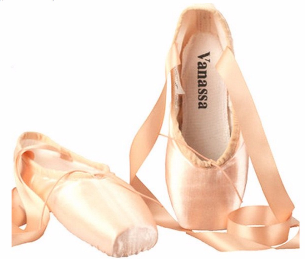 WENDYWU girls casual shoes silk ballet shoes child and Adult ballet pointe dance shoes pointe shoe pink size34-44<br><br>Aliexpress