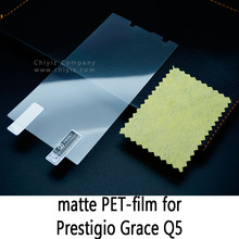 Glossy Lucent Clear Frosted Matte Antiglare Tempered Glass Protective Film Screen Protector For Prestigio Grace Q5 PSP5506DUO
