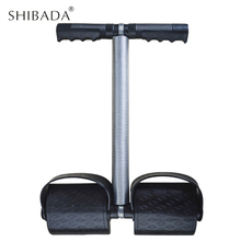 Buy SHIBADA Elastic Spring Crossfit Fitness Abdominal Sit Foot Pedal Exerciser Equipment Gym Workout Trainning Resistance Bands for $13.99 in AliExpress store