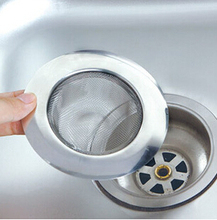 1Pcs Convenient Stainless Steel Sink Sewer Filter Strainer Mesh Kitchen Cleaning Gadgets Appliances Trough Barbed Wire