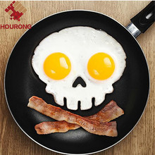 Silicone Skull Egg Fried Shaped Mold Shaper Ring Kitchen Cooking Tools