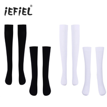 Fashion Warm Womens Girls Over The Knee/Over The Calf Thigh High Soft Opaque Stockings Cotton Full-footed One Size Stockings(China)