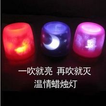 colorful LED present promotional gifts hotels bars home decoration churches parties Christmas gifts