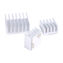 3PCS One Set Cooler Aluminum Heatsink Heat Sink kit For Raspberry Pi