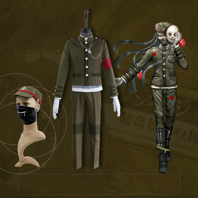 Korekiyo Shinguji Anime Danganronpa V3: Killing Harmony Cosplay Halloween Man Woman Japanese uniform Set cosplay costumes