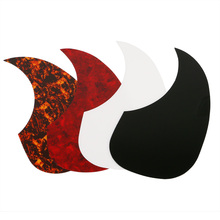 Homeland 4pcs Professional Guitar Pickguard Acoustic Guitar Self-Adhesive Celluloid Pickguard Scratch Plate Pick Guards(China)