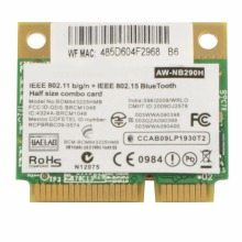 Laptop Network Cards BCM943225HMB Wireless 300M Wifi N Bluetooth BT Network Card For Dell Asus Network Cards VC891 P79