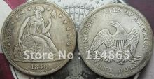1840 Seated Liberty Silver Dollar Coin COPY FREE SHIPPING