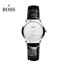 BOSS Germany watch women luxury brand ultra-thin Japan MIYOTA quartz couple lover watch belt female white relogio feminino