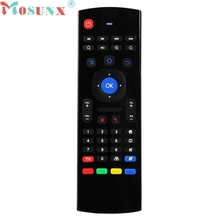 Mosunx 2.4Ghz Wireless Remote Control Keyboard Air Mouse For XBMC Android TV Box Motion Sensor Fly Mouse Pro Mice