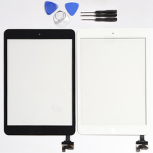 For iPad Mini 1 A1432 A1454 A1455 Mini 2 A1489 A1490 A1491 Touch Screen Digitizer with Ic connector + Home Button + full tool